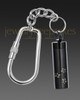 Black Follow Me Memorial Keychain