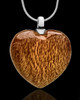 Cremains Keepsake Light Timber Heart - Eternity Collection
