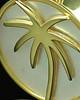 Memorial Locket 14K Gold Tropical Keepsake