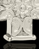 Cremation Locket 14K White Gold Companion Elegant Cross Keepsake