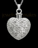 Necklace Urn Sterling Silver Twinkle Heart