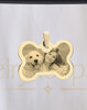 Reflection Gold Bone Pet Jewelry
