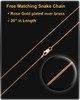 Memorial Locket Copper Bravura - Eternity Collection