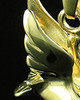 Cremation Urn Necklace 14K Gold Swan