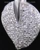 Memorial Locket Sterling Silver Blaze Heart