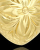 Cremation Jewelry 14K Gold Daisy Heart Keepsake