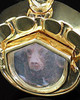 Cremation Pet Locket Gold Vermeil Photo Paw Keepsake