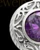 Keepsake Cremation Jewelry 14K White Gold Plum