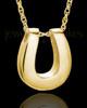 Cremains Locket 14K Gold Lucky Keepsake