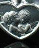 Memorial Pendant Sterling Silver True Love Keepsake