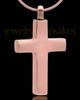 Memorial Pendant Copper Memorable Cross - Eternity Collection
