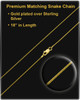 Jewelry Urn 14K Gold Night Dragon Keepsake