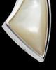 Cremation Charm 14K White Gold Sail Away Keepsake