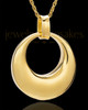 Urn Pendant 14K Gold Timeless Keepsake