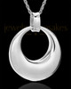Urn Pendant 14K White Gold Timeless Keepsake