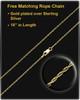Necklace Urn 14K Gold Barred Cross Keepsake