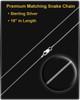 Funeral Jewelry Sterling Silver Oblique Keepsake
