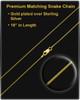 Cremation Ash Jewelry 14K Gold Majesty Round Keepsake