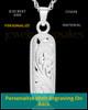 Locket Jewelry Sterling Silver Majesty Cylinder