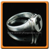 Men's Silver Eternity Memorial Ring