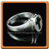 Ladies Silver Eternity Memorial Ring