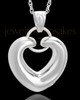 Cremation Keepsake Sterling Silver Loyalty Heart