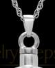 Keepsake Pendant Starburst Sterling Silver - Engravable
