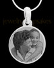 Photo Engraved Stainless Steel Large Round