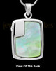 Sterling Silver Clear Spring Garden Memorial Charm