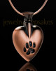 Pet Memorial Jewelry Copper Buddy Heart - Eternity Collection