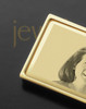 Gold on Gold Photo Engraved Money Clip