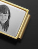 Silver on Gold Photo Engraved Money Clip