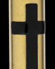 Ash Pendant Gold Plated Spirited Cylinder - Eternity Collection