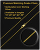 March Gold Gem Circle Birthstone Photo Pendant