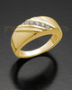 Ladies 14K Gold Tender Cremation Ring
