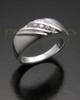 Ladies White Gold Tender Cremation Ring
