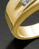 Men's 14K Gold Fondness Cremation Ring