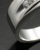 Men's White Gold Fondness Cremation Ring