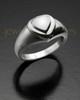 Ladies  White Gold  Forever Love Memorial Ring
