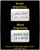 Black Courageous Cylinder Ash Keychain