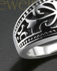 Men's Silver Nobleman Cremation Ring