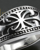 Ladies Silver Queen Cremation Ring