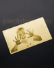 Gold Tenderness Wallet Card