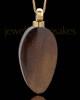 Men's Woodland Teardrop Cremation Jewelry
