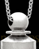 Men's Silver Plated Wonder Memorial Pendant