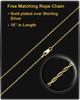 14K Gold Intricate Heart Urn Pendant