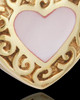 14K Gold Blushing Heart Urn Keepsake