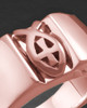 Ladies 14k Rose Gold Devout Ring For Ashes
