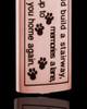 14K Rose Gold Sentimental Cylinder Pet Urn Pendant