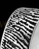 Men's Sterling Silver Thumbprint Ring